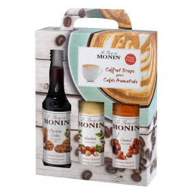Coffret 3 sirops monin 3x25cl