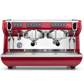 Machine expresso Appia Life 2 groupes Standard rouge